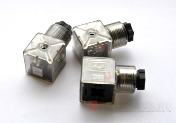 Розетка ((DIN CONNECTOR(WITH LED LAMP)24V)